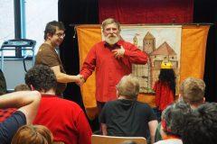 Występ Teatru Form Niezależnych Korzunowicz