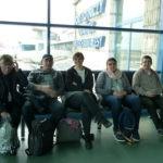 Przed wylotem do Londynu