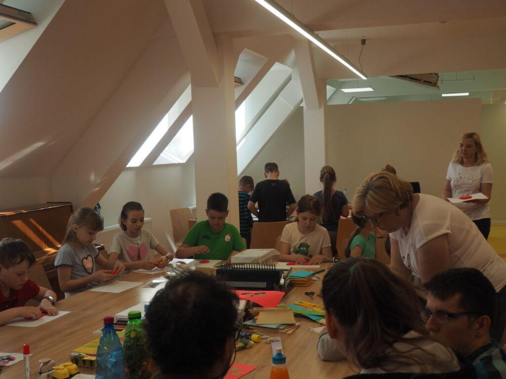 Spotkanie integracyjne z uczniami szkoły podstawowej