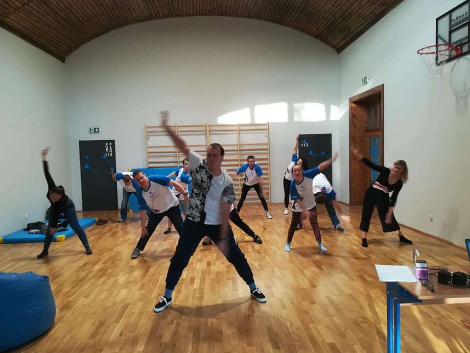Próba Teatru Tańca w WTZ
