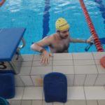 Zawody pływackie w Krakowie
