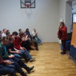 Występ teatru Korzunowiczów